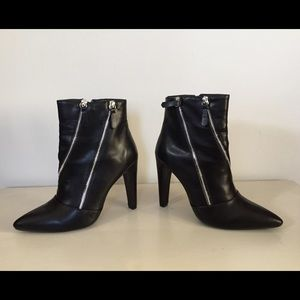 Cupid Black Ankle Boots